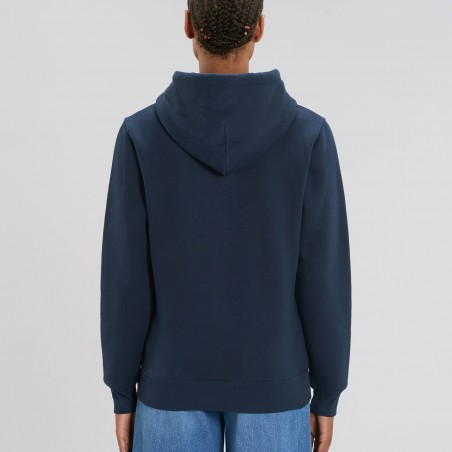 Organic Amore-Hoodie (unisex) french navy