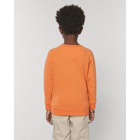 Organic Amore-Sweatshirt für Kinder, melon