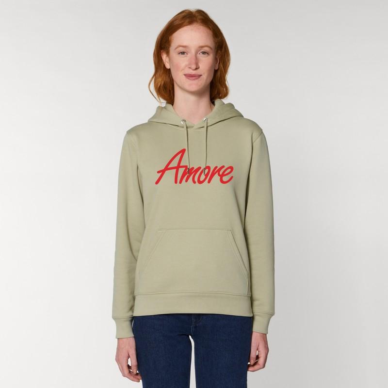 Organic Amore-Hoodie (unisex) sage