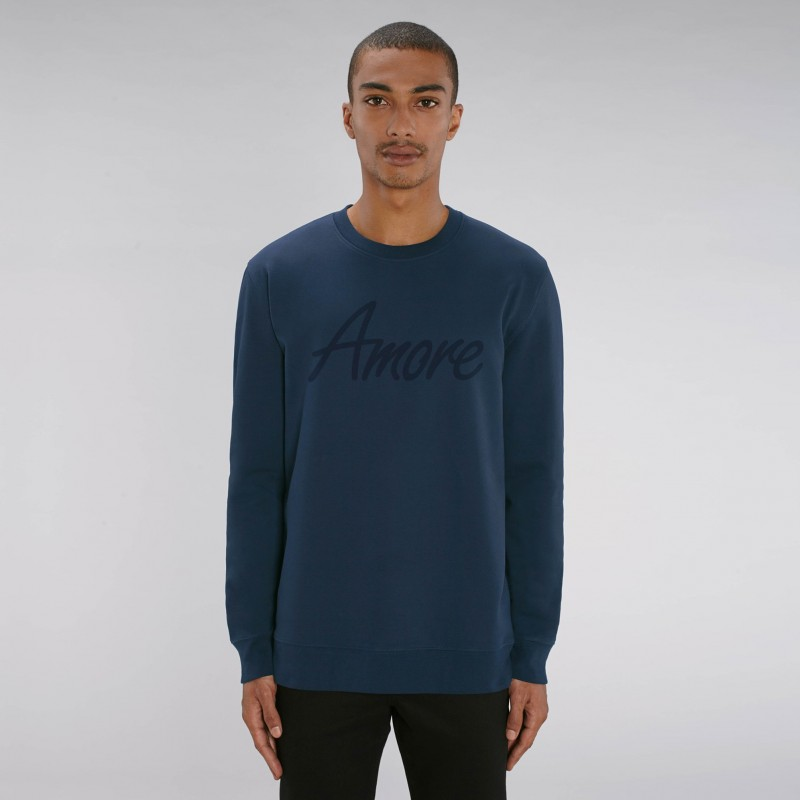 Organic Amore-Sweatshirt (unisex) french navy