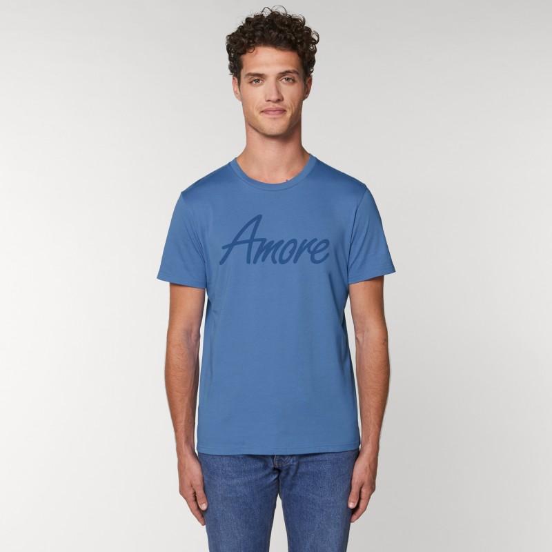 Organic Amore T-Shirt (unisex) bright blue
