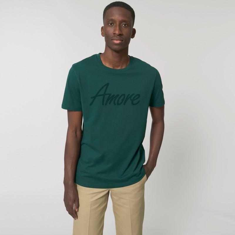 Organic Amore T-Shirt (unisex) glazed green, Lack