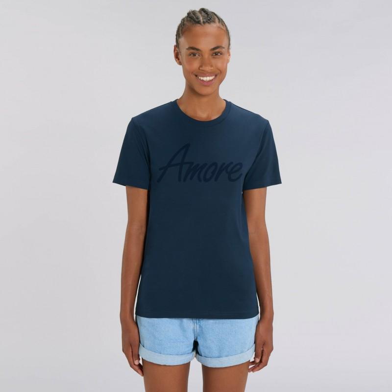 Organic Amore T-Shirt (unisex) navy, Lack