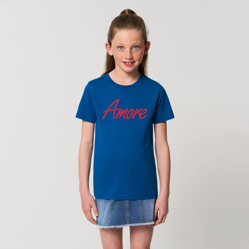 Organic Amore T-Shirt für Kinder, majorelle blue
