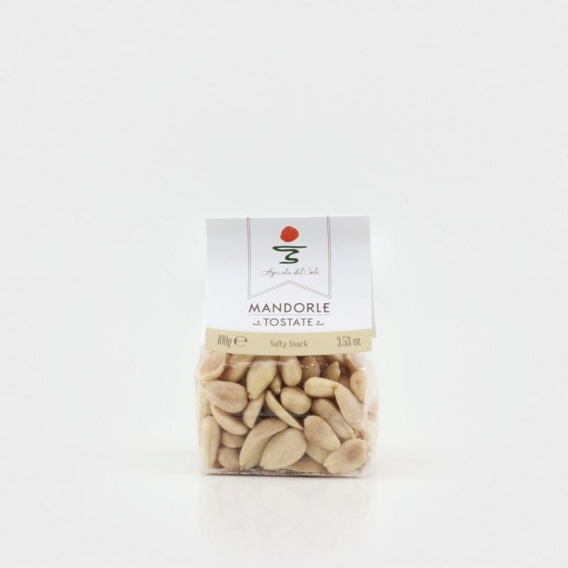 Geröstete Mandeln aus Apulien von Agricola del Sole