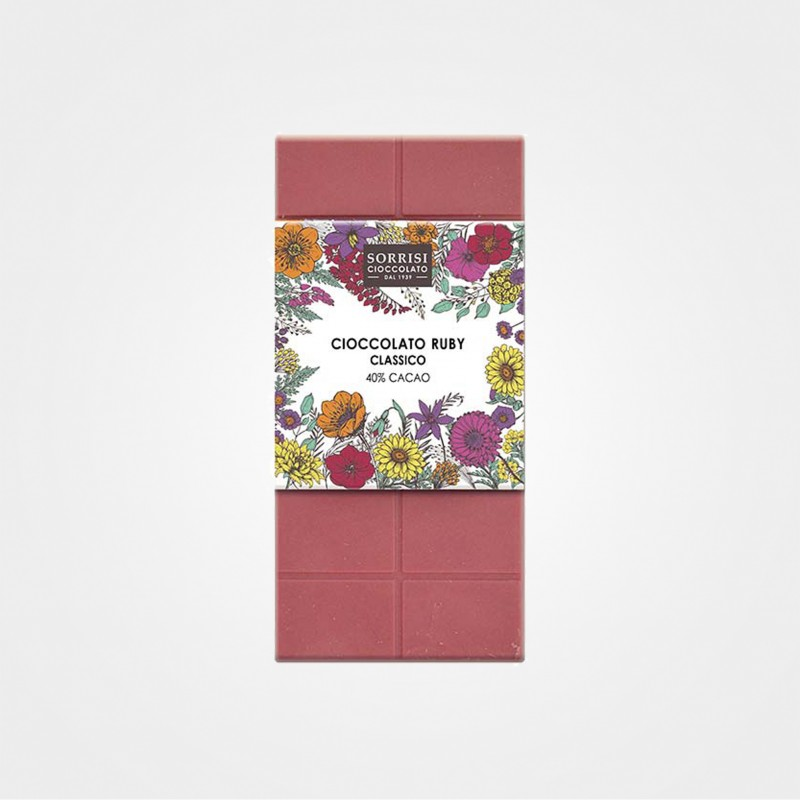 Rubyschokolade Classico von Boella & Sorrisi