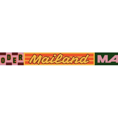 "FC Amore Schal ""Felix Kopp"" Mailand oder Madrid, Hauptsache Italien"