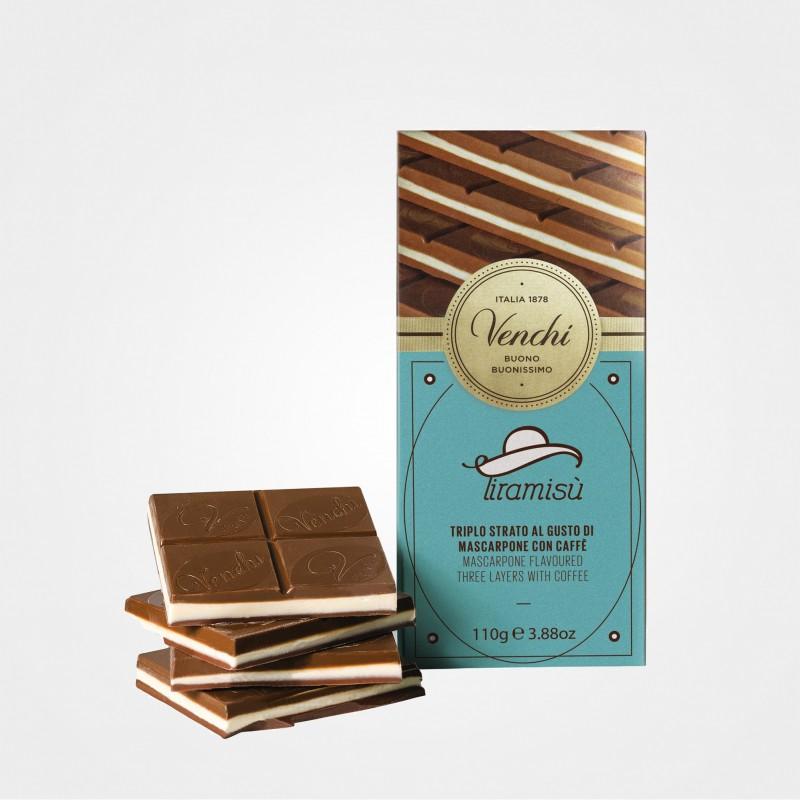 Tiramisu - Schokolade mit Mascarponecreme und Kaffee von Venchi