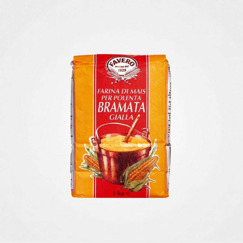 """Grober Maisgrieß """"Polenta"""", grob gemahlen, von Favero"""