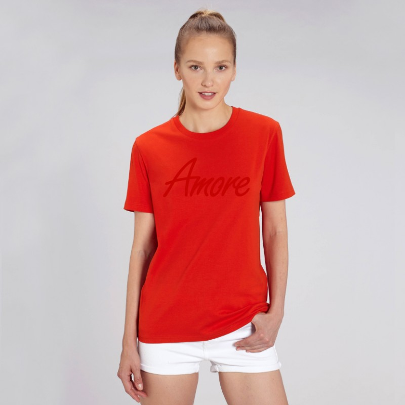 Organic Amore T-Shirt (unisex) bright red, Stanley Stella