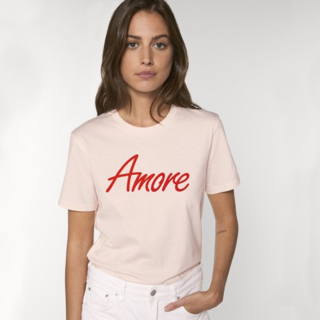 Organic Amore T-Shirt (unisex) candy pink, Stanley & Stella