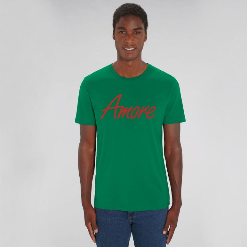 Organic Amore T-Shirt (unisex) varsity green