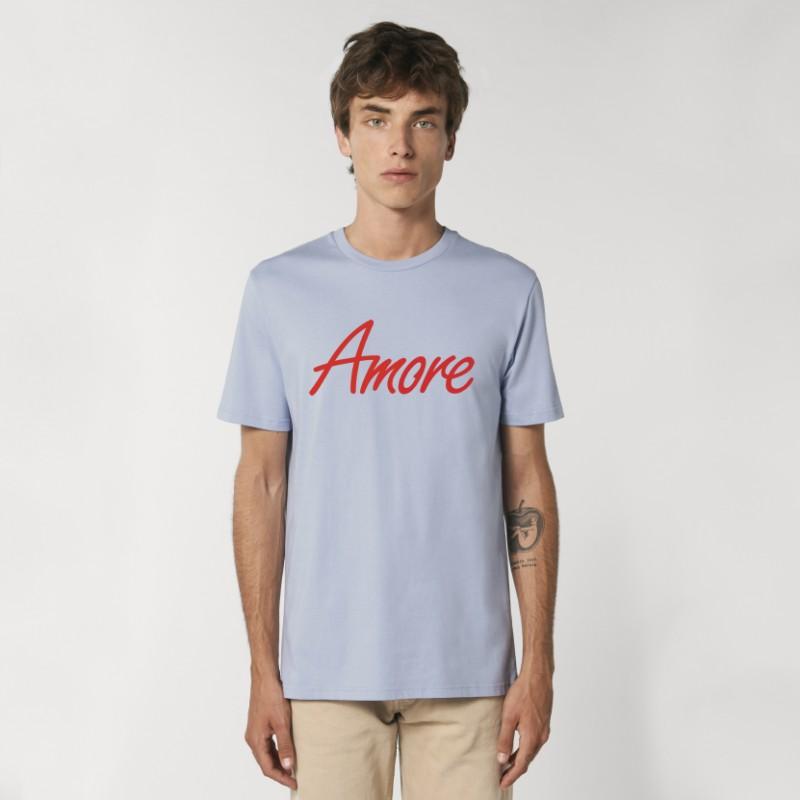 Organic Amore T-Shirt (unisex) serene blue
