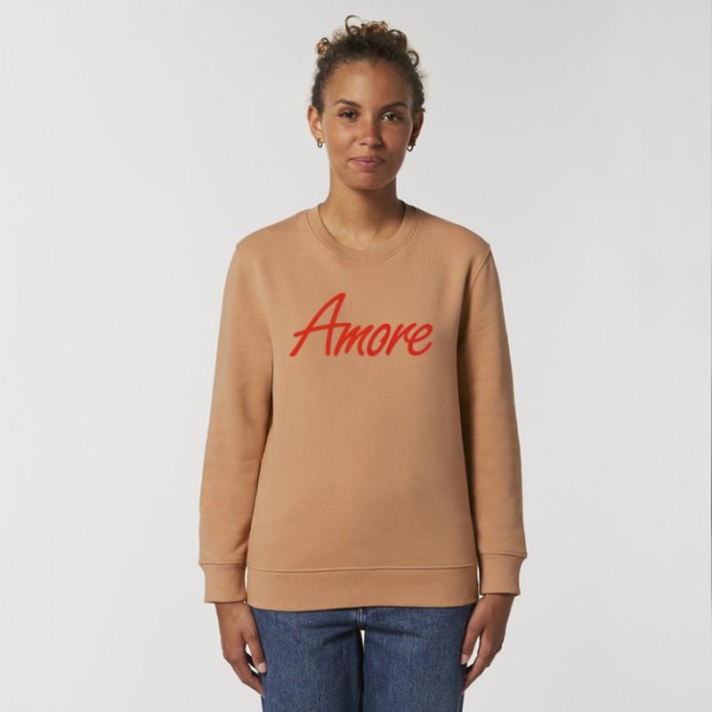 Organic Amore-Sweatshirt (unisex) mushroom