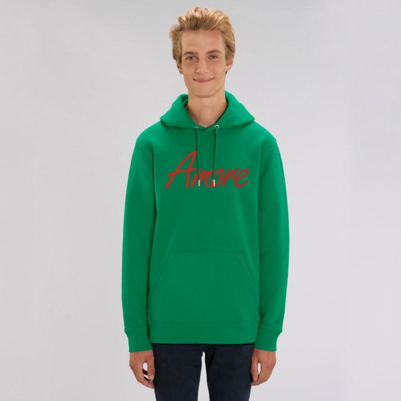 Organic Amore-Hoodie (unisex) varsity green