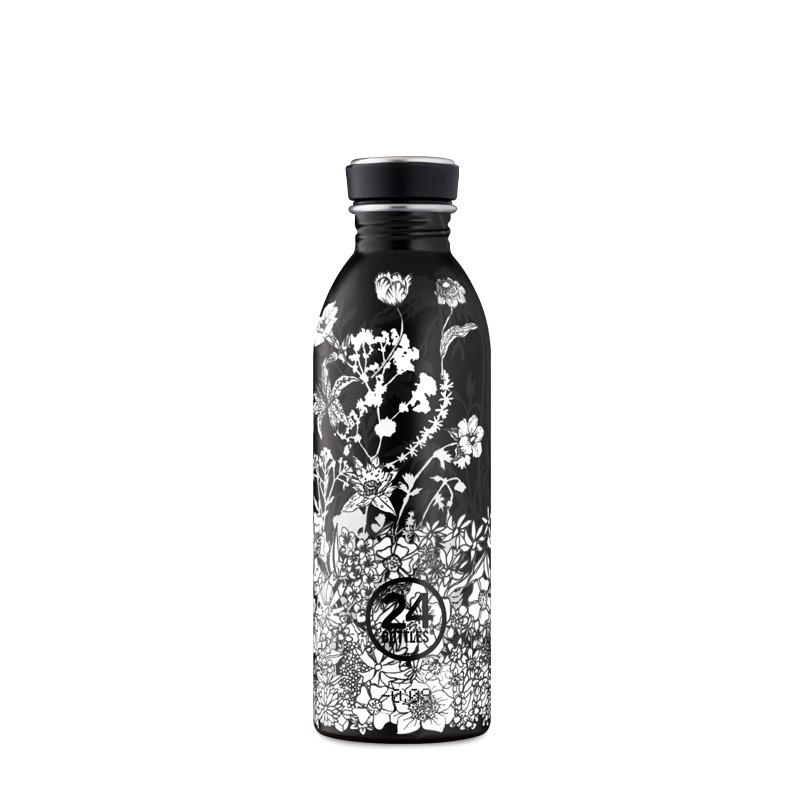 """24Bottles """"Urban Bottle"""" Flasche, 500ml, Noir"""