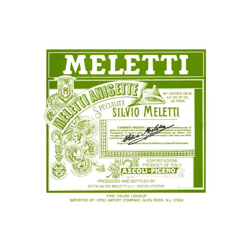 Meletti Anisetta dolce, 100ml