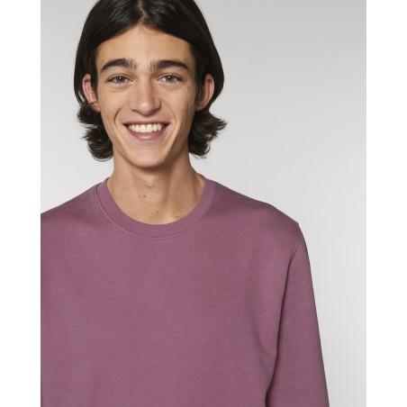 Organic Amore-Sweatshirt (unisex) mauve