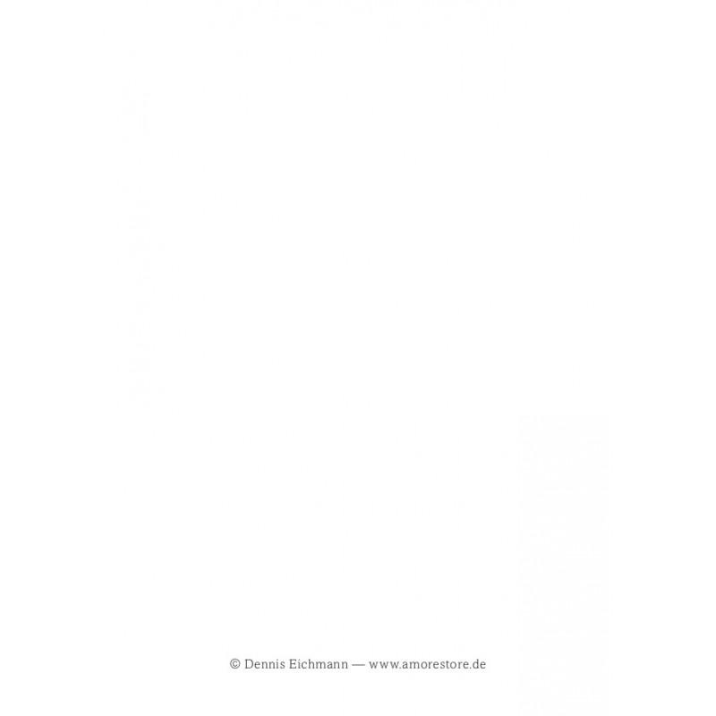 """Rückseite der Postkarte """"Rosso"""" von Dennis Eichmann"""