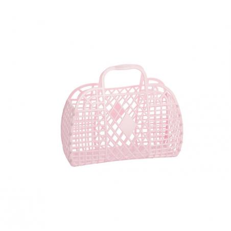 RETRO BASKET - Small Pink