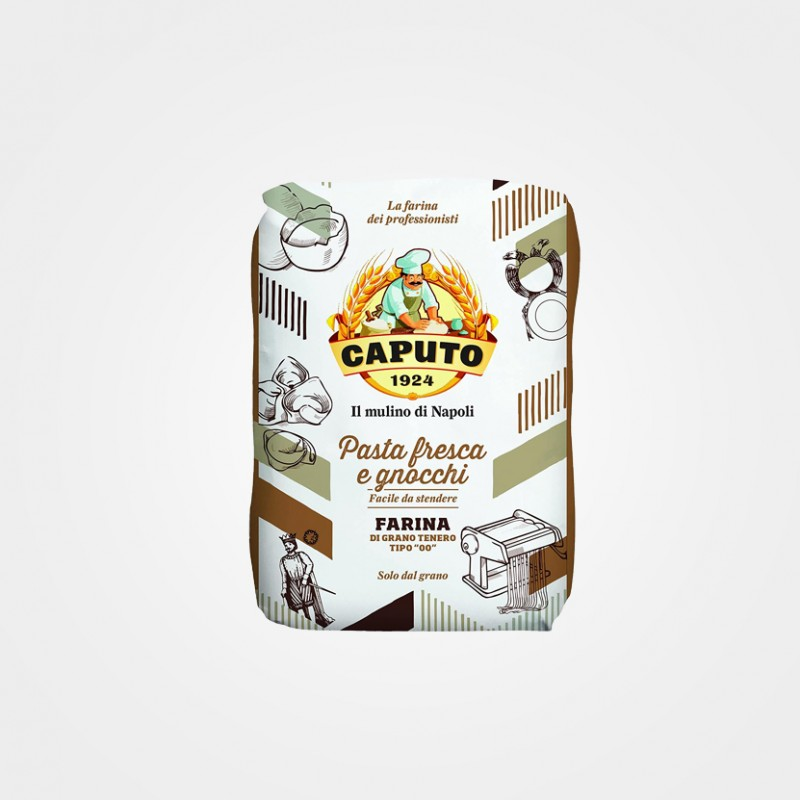 """Caputo Pasta Fresca & Gnocchi-Mehl """"Tipo 00"""""""