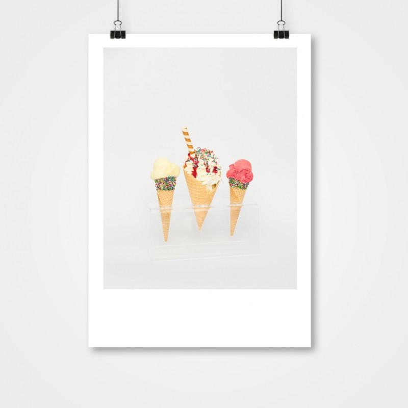 """Splendido Plakat """"Tre Coni"""""""