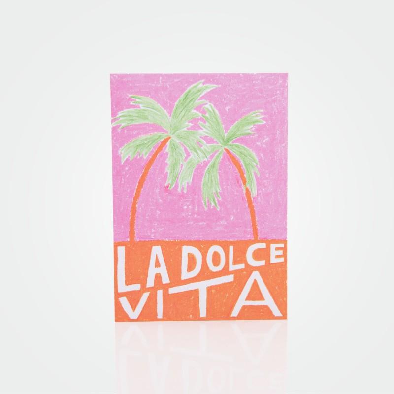 """Postkarte """"Dolce Vita"""" von Malena Guinet"""