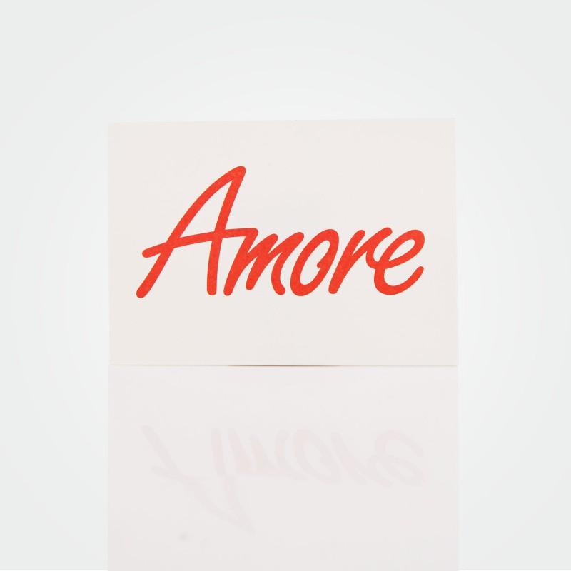 """Postkarte """"Amore"""""""