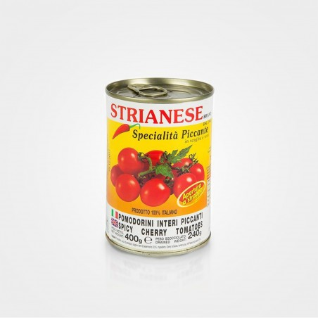 Strianese Kirschtomaten mit Chili, 400g Dose