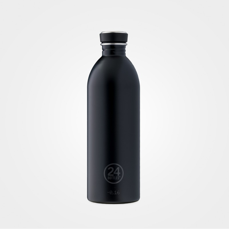 "24Bottles ""Urban Bottle"" Flasche, 1000ml, Tuxedo Black"