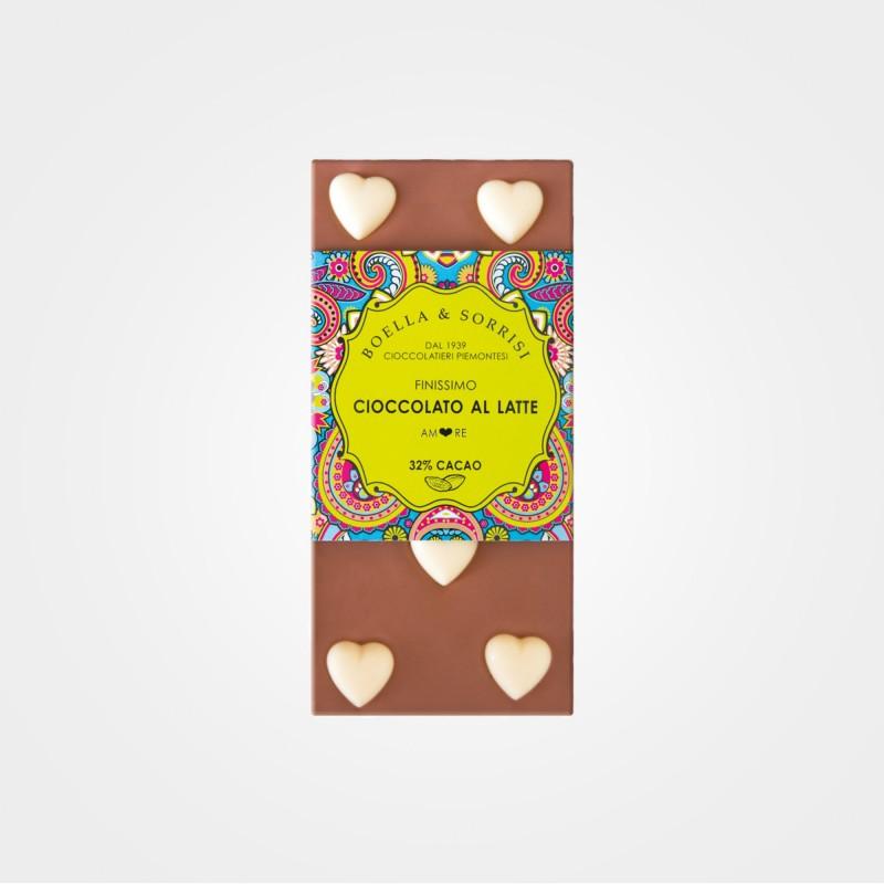 Vollmilchschokolade Amore von Boella & Sorrisi aus Turin, Piemont