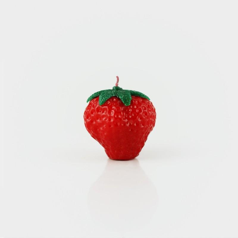 """Kerze """"Erdbeere"""""""