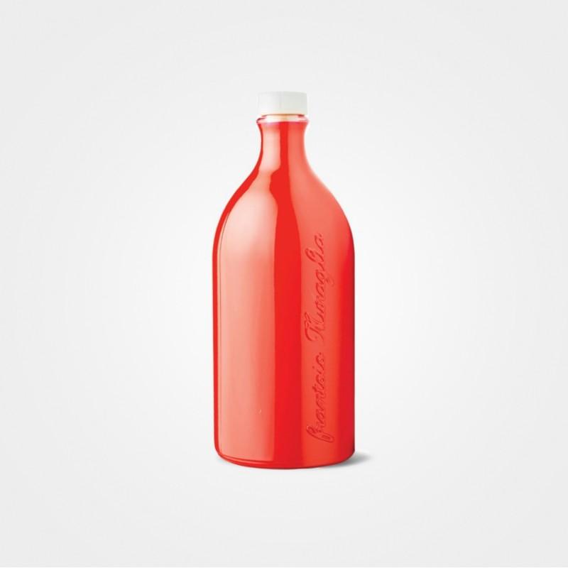 """Muraglia Vetro Rosso """"Peranzana"""" Olivenöl, 500ml"""