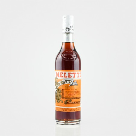 Meletti Amaro ist ein ital. Kräuterlikör bzw. Kräuterbitter