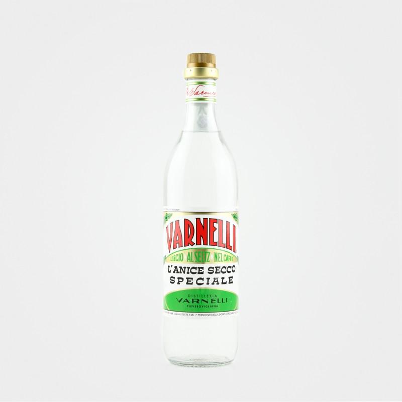 """Varnelli """"Anice Secco"""" ist eine Anisschnaps aus den Marken für Caffè Corretto"""