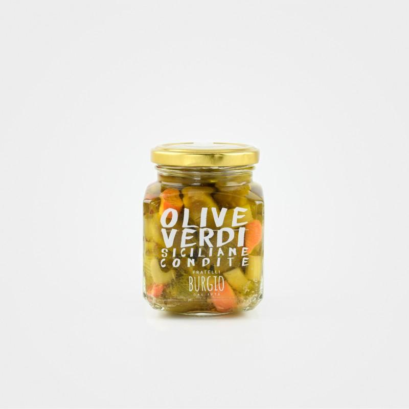 "Fratelli Burgio ""Grüne Oliven"", mariniert"