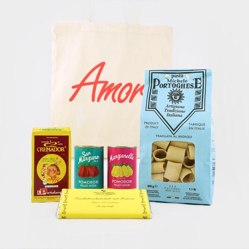 """""""Amore""""-Präsentkorb im Wert von 20€"""