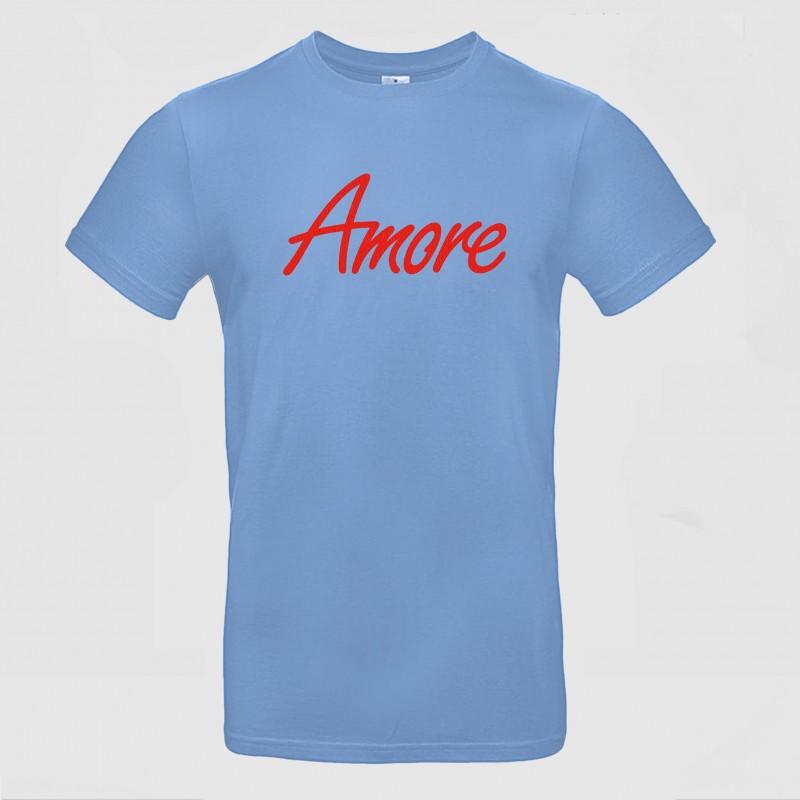 Amore T-Shirt, hellblau
