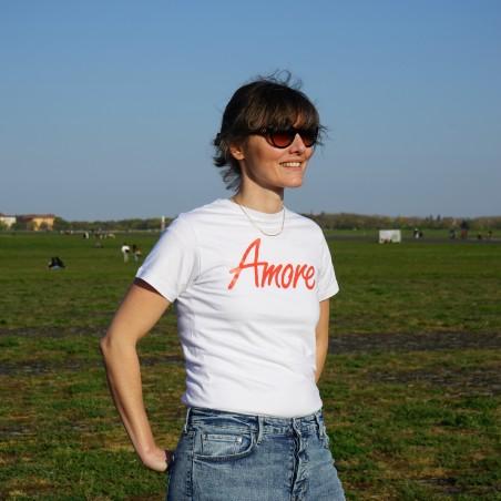 Amore T-Shirt, weiß