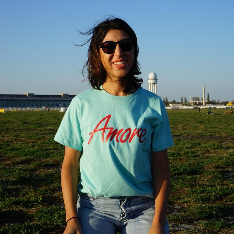 Amore T-Shirt, hellgrün