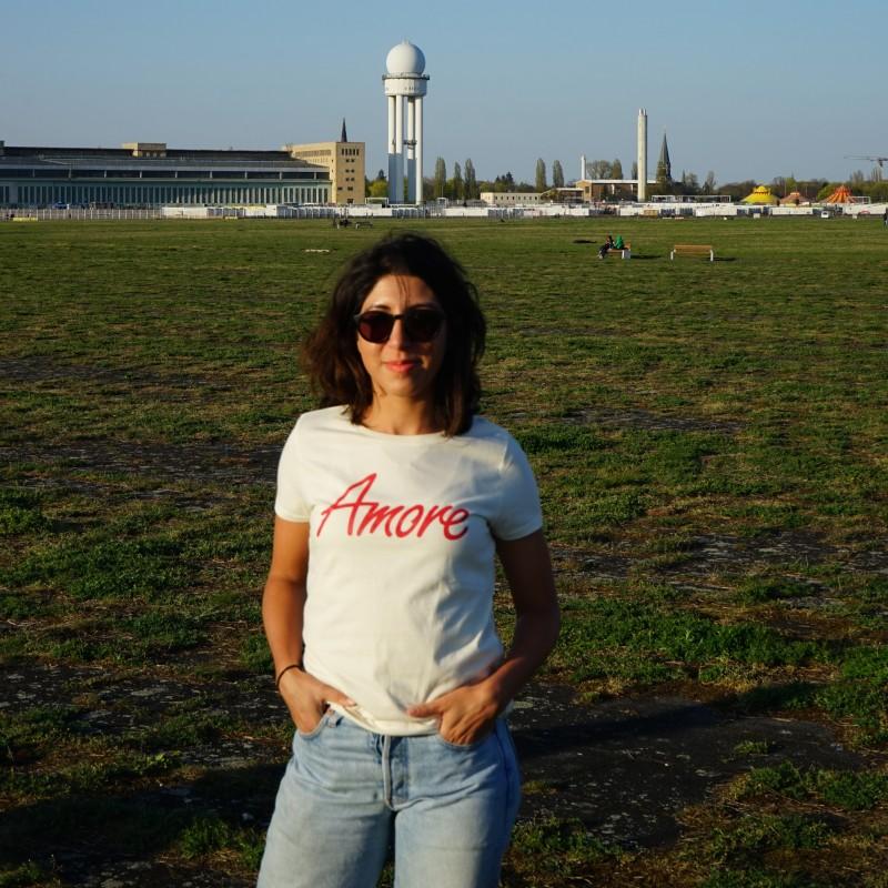 Amore T-Shirt, creme