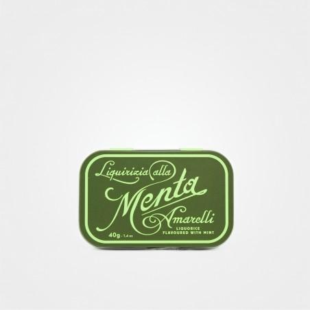 """Amarelli Lakritzpastillen """"Menta"""""""